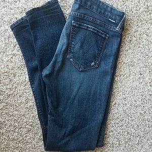 """MOTHER jeans """"The Looker"""" """"Jaded"""" size 29"""